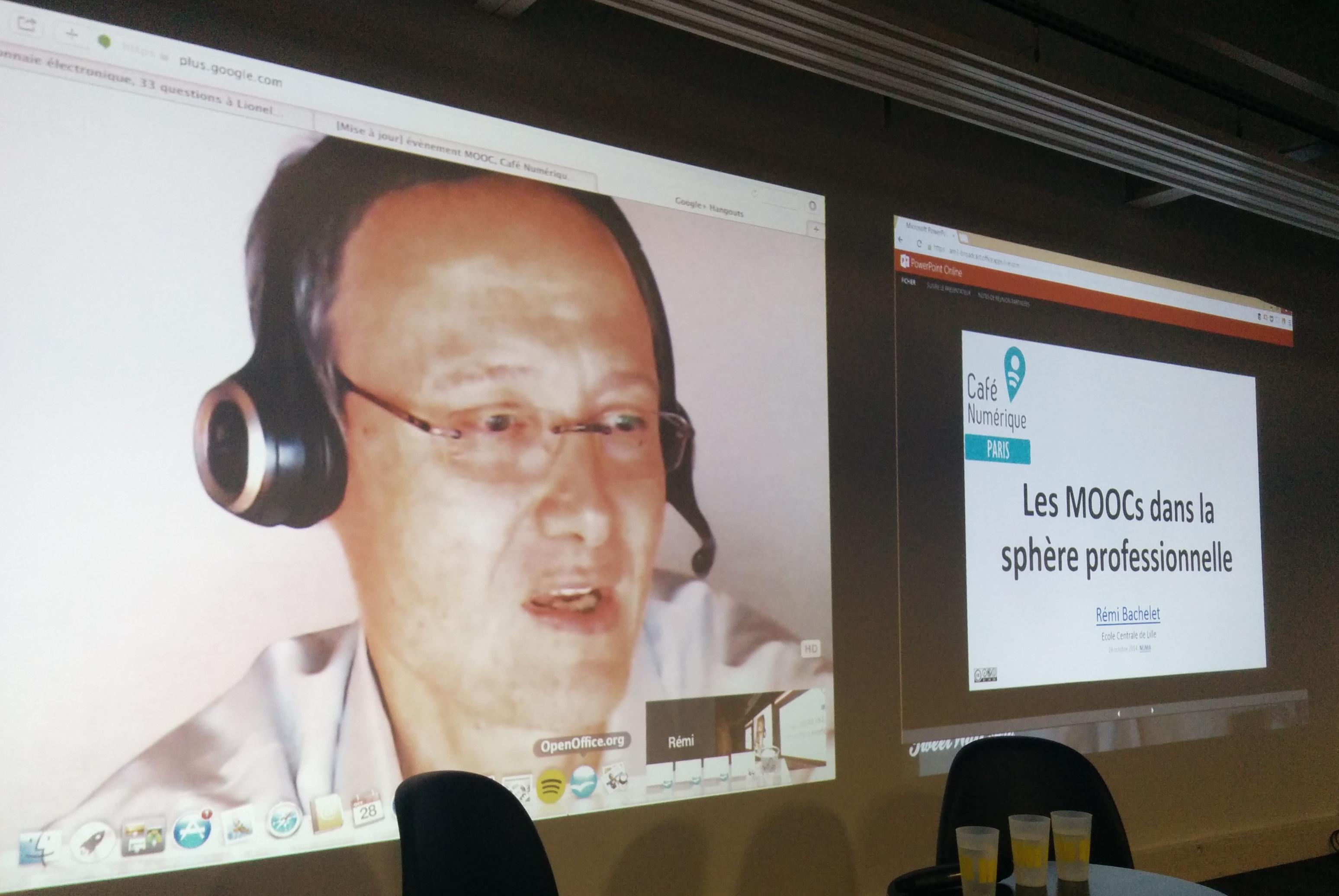 Rémi Bachelet, les vrais puristes font leur conférences online