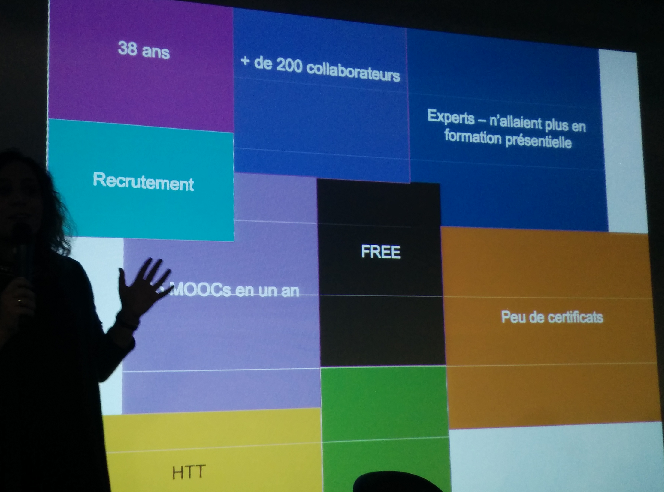 Slide bilan des MOOC chez Canal+