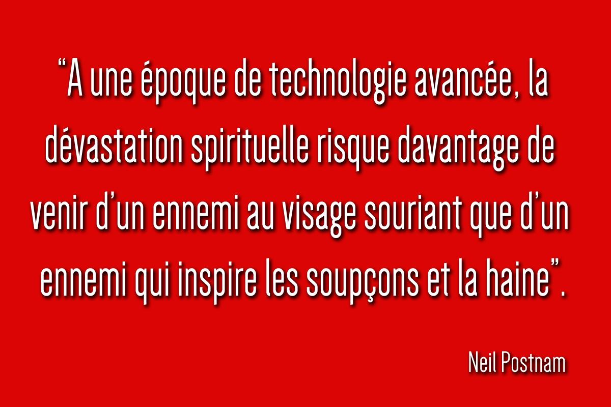 Neil Postnam, comprendre Huxley