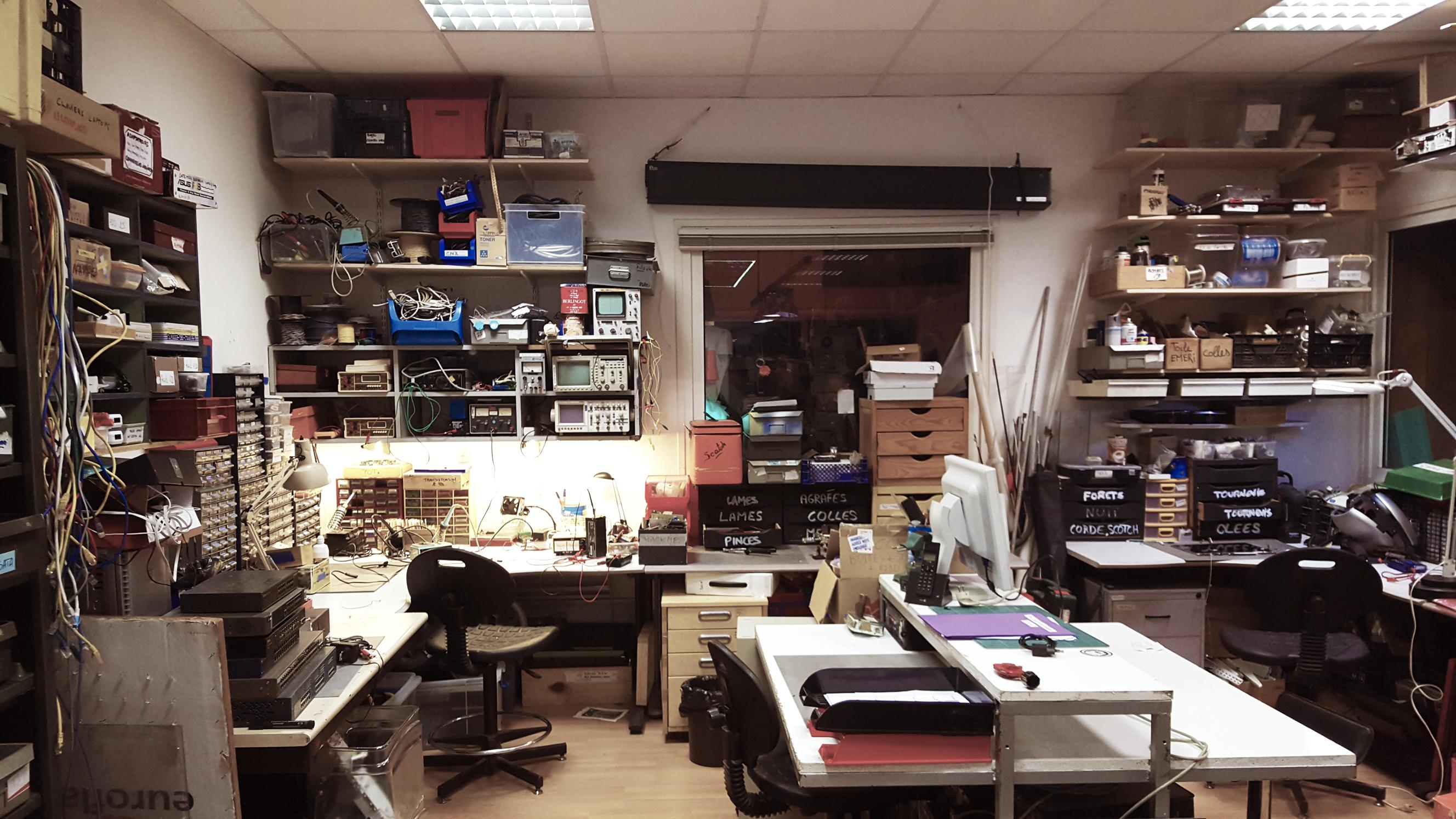 Into the Jack, une plongée dans le Hackerspace de Montreuil