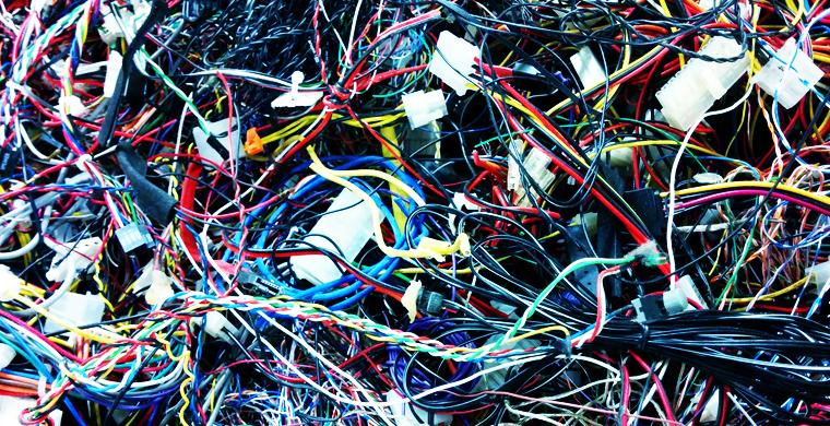 cables emmêlés